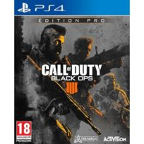 ACTIVISION - Call of Duty : Black OPS 4 - Édition Pro - Jeu PS4