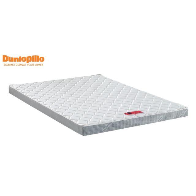 DUNLOPILLO Matelas en mousse HD 24kg/m3 D PACK12 140x190