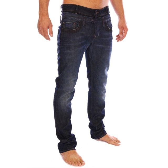 Kaporal 5 - Kaporal - Homme - Jeans Dylan Jwan bleu coupe demi slim hiver  2016 e4447e31837
