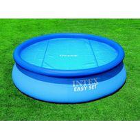 INTEX - Bâche à bulles pour piscine Ø 2,44 m