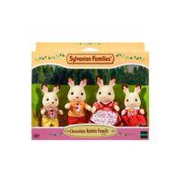 SYLVANIAN FAMILIES - Famille lapin chocolat - 3125