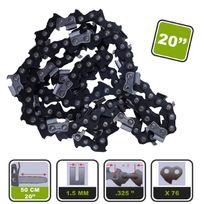 Silex - Lot de 5 chaînes de tronçonneuse ® pour guide 50cm