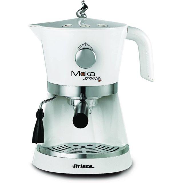 Ariete machine à café Expresso de 1,5L 850W gris blanc