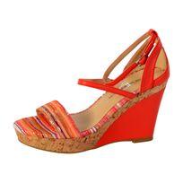The Divine Factory - Sandale Compensée Tdf2918 Corail