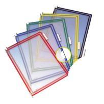 Tarifold - Protège-documents pivotant Pvc A4 couleurs assorties - 10 pochettes