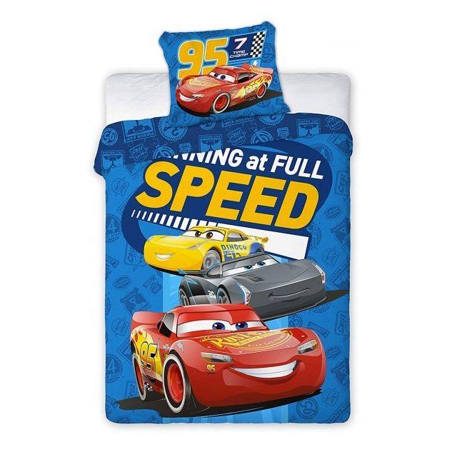 Cars - Disney Champ - Parure de Lit Bébé - Housse de Couette Multicolore - 100cm x N/Acm