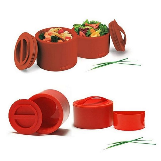 ALADDIN - boîte alimentaire isotherme 0.95l rouge - 135023