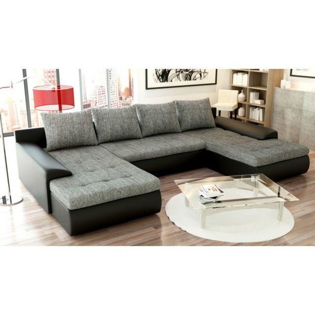 meublesline canap convertible joyu avec double. Black Bedroom Furniture Sets. Home Design Ideas