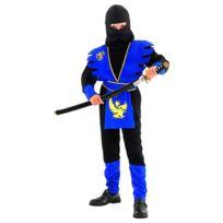 Invincible Heroes - Costume Ninja Bleu 7/9 ans