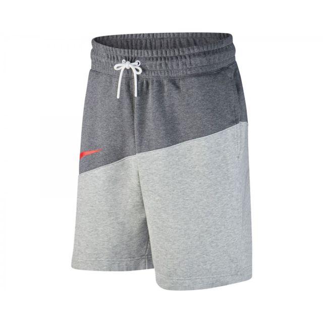 Nike - Short Swoosh - Bv5309-072 - pas cher