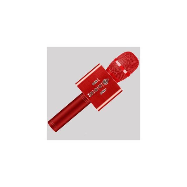 auto hightech microphone sans fil karaok ktvpour t l phone portable compatibilit bluetooth. Black Bedroom Furniture Sets. Home Design Ideas