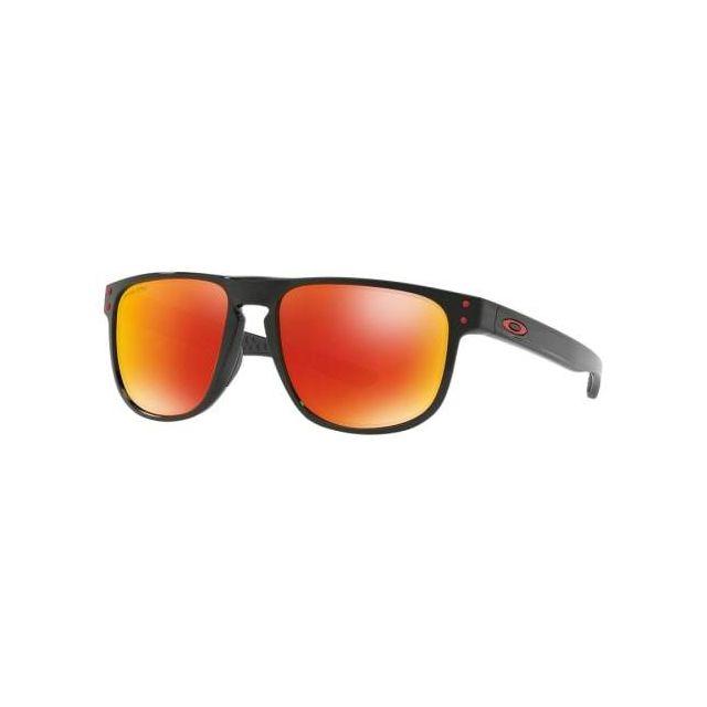 6545b4c925f357 Oakley - Lunettes Holbrook R noir avec verres Prizm Ruby Polarized - pas  cher Achat   Vente Lunettes - RueDuCommerce