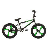 KS CYCLING - BMX Freestyle 20'' Cobalt noir-vert