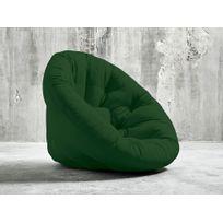 Karup - Chauffeuse convertible matelas futon Nido Futon Chair - Vert bouteille
