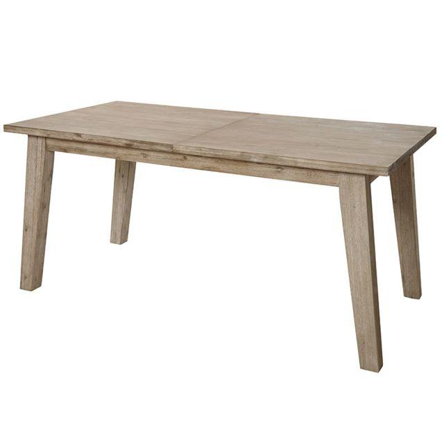 Nouvomeuble Salle à manger en bois contemporaine Aubin