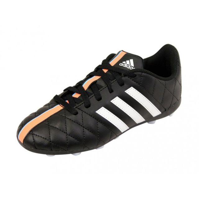 Adidas 11QUESTRA FXG JR BLK Chaussures Football Garçon