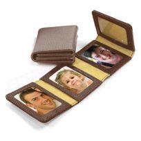 Volumica - Album Photos zig-zag cuir Marron Beaubourg