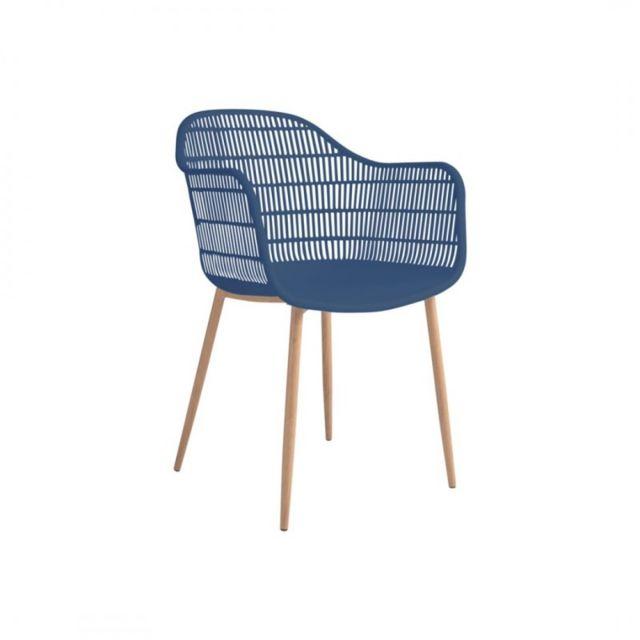 Zoli99 2 chaises de Lot indooroutdoor Bleu Joyce pas tCshdxBQro
