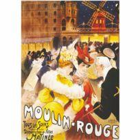 Dtoys - Poster vintage : Moulin-Rouge