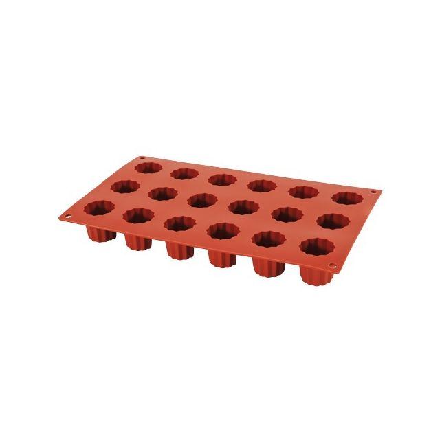 Guery Moule silicone mini-cannelés 18 empreintes