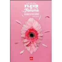 La Plage - fleur de femme ; colorier en toute intimité