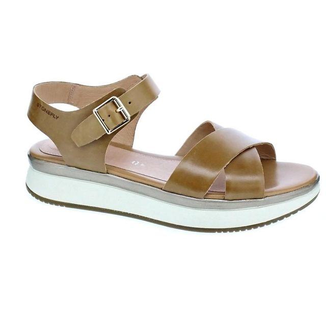 Sandales Modele Chaussures Lara Pas Marron 37 6zwduqq Femme Stonefly KJlcTF13