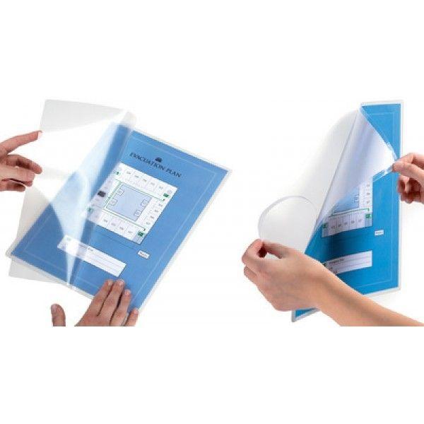 Durable Pochette de plastification à froid Seal It - 225 x 315 - 10 pochettes adhesives