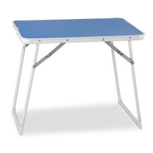 Carrefour table pliante pour enfant bleu 814 d pas cher achat vente table de camping - Table de camping pliante carrefour ...