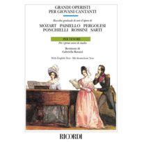 Ricordi - Partitions Classique Grandi Operisti Per Giovani Cantanti - Chant Et Piano Choeur Et Ensemble Vocal Soldes