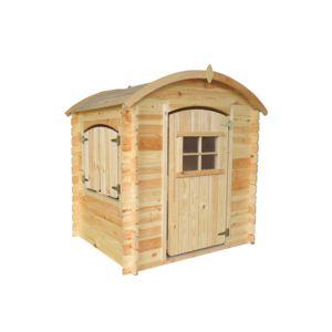 Rue du commerce maisonnette clochette en bois pour for Maison en bois enfant pas cher