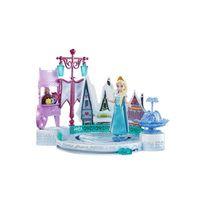 Mattel - Peluche - La Reine des neiges diorama Patinoire Elsa