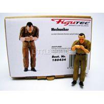 Figutec - Figurines Mecanicien Italien - Change les bougies - 1/18 - 180434