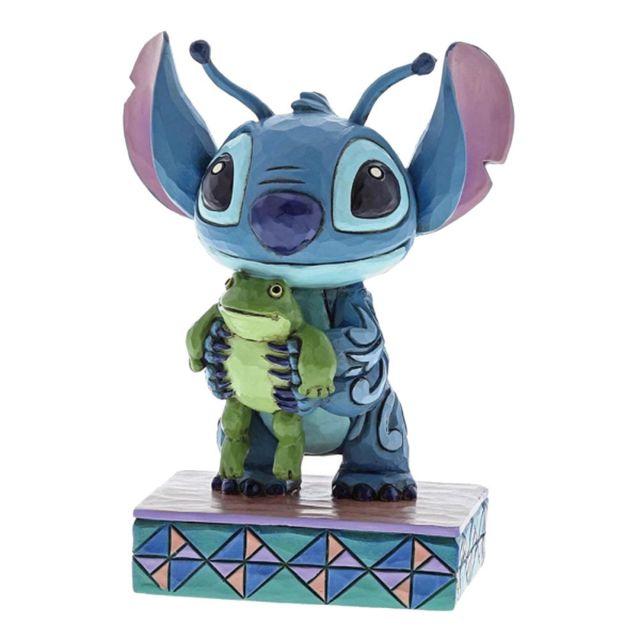 Disney Statuette de collection Stitch et la grenouille