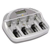 Cfp Securite - batCHAR - Chargeur de piles rechargeables Basic 5 Plus