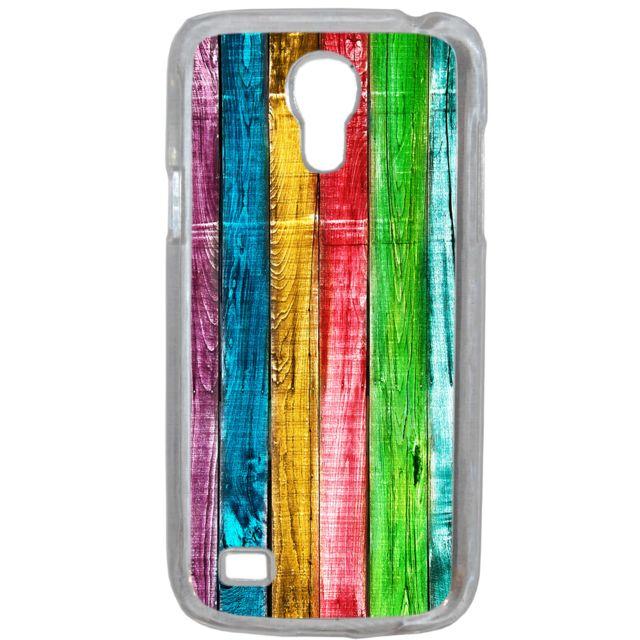 Lapinette - Coque Rigide Bois Multi Couleur Pour Samsung Galaxy S4 Mini