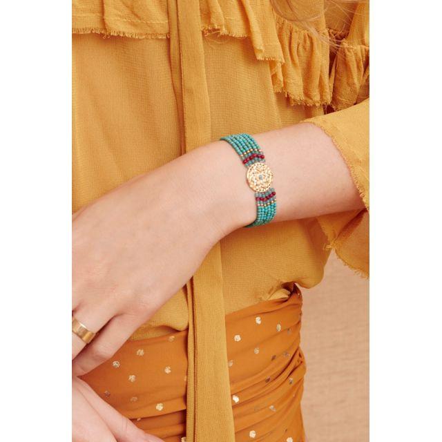 cf6900209a487a Hipanema - Bracelet Venus, Turquoise - pas cher Achat / Vente Bracelets  femme - RueDuCommerce