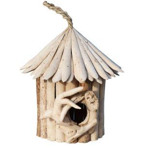 les animaux de la fee nichoir oiseau du ciel bois flott 24 cm pas cher achat vente. Black Bedroom Furniture Sets. Home Design Ideas