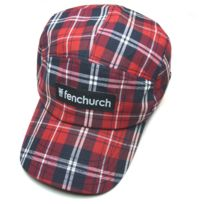 Fenchurch - Casquette Cap Jay Red Plaid