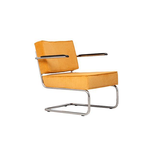 Fauteuil lounge - jaune