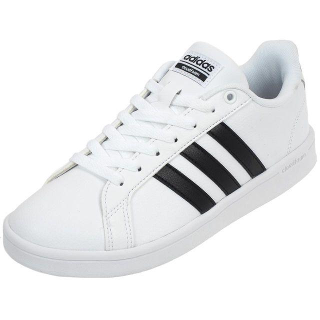 09dfdeb53016a Adidas Neo - Chaussures mode ville Advantage blc noir Blanc 38905 ...