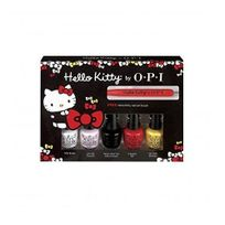 Opi - Nail Lacquer - Hello Kitty Collection - Friend Pack Minis - 3.75ml / 0.125oz Each