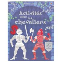Usborne - Activités avec les chevaliers - Livre