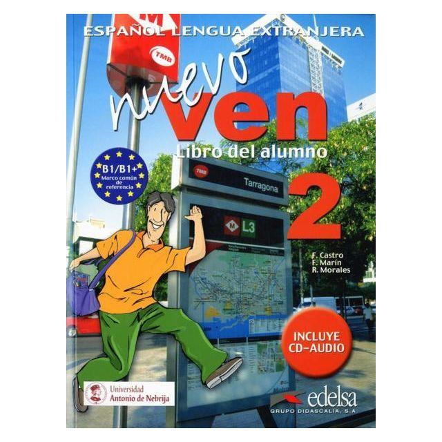 Nuevo Ven 2 Espagnol B1 B1 Livre De L Eleve