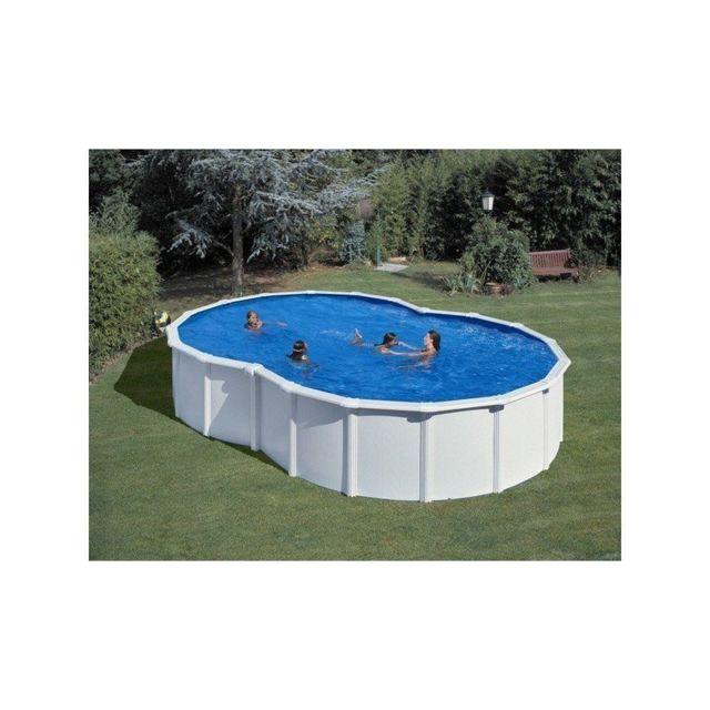 gre pools kit piscine hors sol acier en 8 varadero avec renforts en u pas cher achat vente. Black Bedroom Furniture Sets. Home Design Ideas