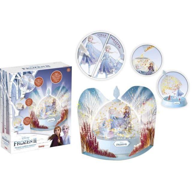 JEU DE COLORIAGE - DESSIN - POCHOIR La reine des neiges II Jeu de coloriage Ma boule a paillettes lumineuse - Fille - a