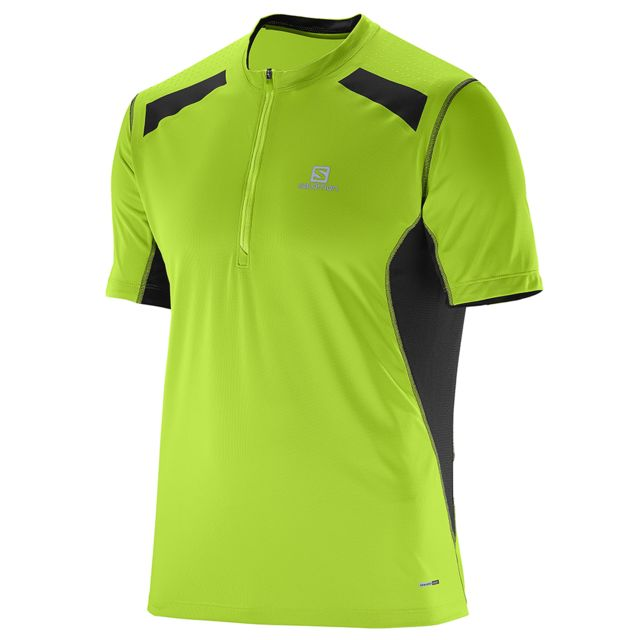 Salomon Tee shirt manches courtes Fast Wing Hz Ss Tee M