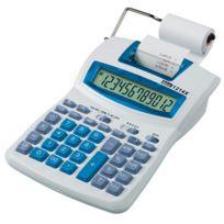 """IBico - Calculatrice imprimante de bureau """"1214X"""" - 12 chiffres sur écran"""