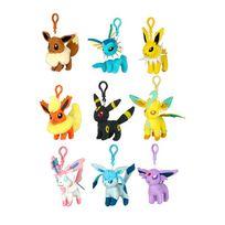 Tomy - Pokemon - Pokémon-porte clés Clip' N Plush Evoli