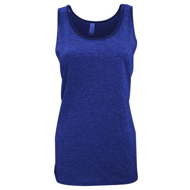 BELLA+CANVAS Canvas - Débardeur - Femme XL, Bleu marine Utbc1335