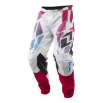 One - Pantalon Atom Vented Shred blanc multicolore